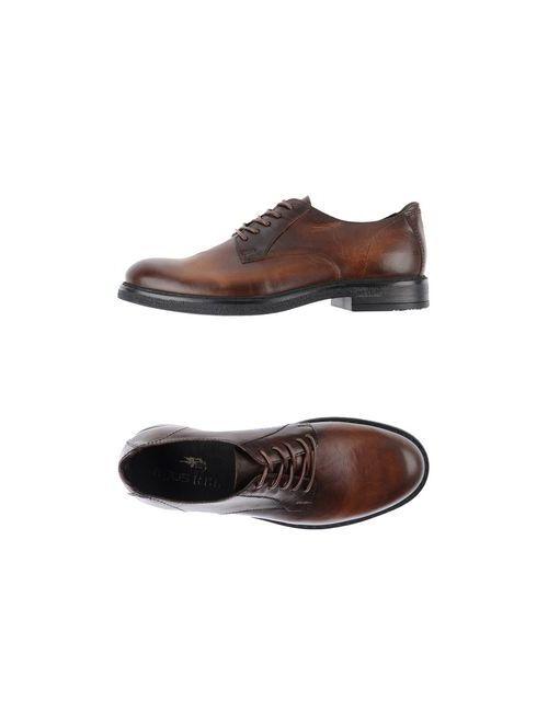 MJUS RBL   Мужская Коричневая Обувь На Шнурках