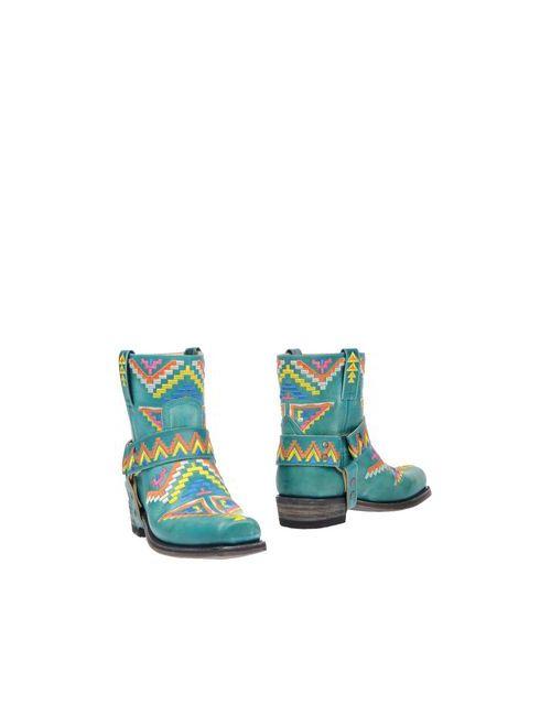 Sendra | Женские Зелёные Полусапоги И Высокие Ботинки