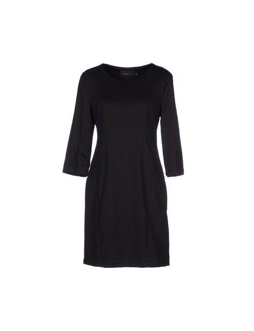 MIGLE + ME | Женское Чёрное Короткое Платье