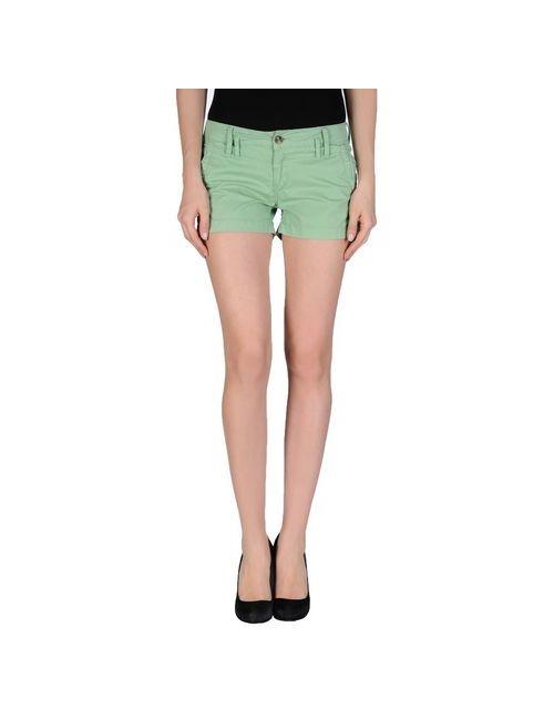 Pepe Jeans | Женские Зелёные Повседневные Шорты