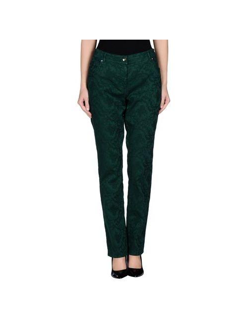 Gigue Jeans   Женские Зелёные Повседневные Брюки