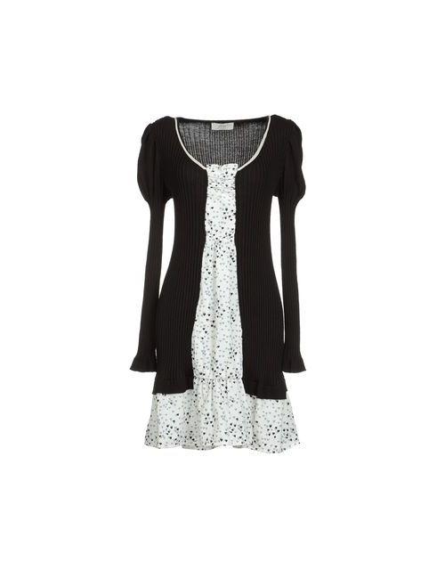 Scrupoli | Женское Черный Короткое Платье