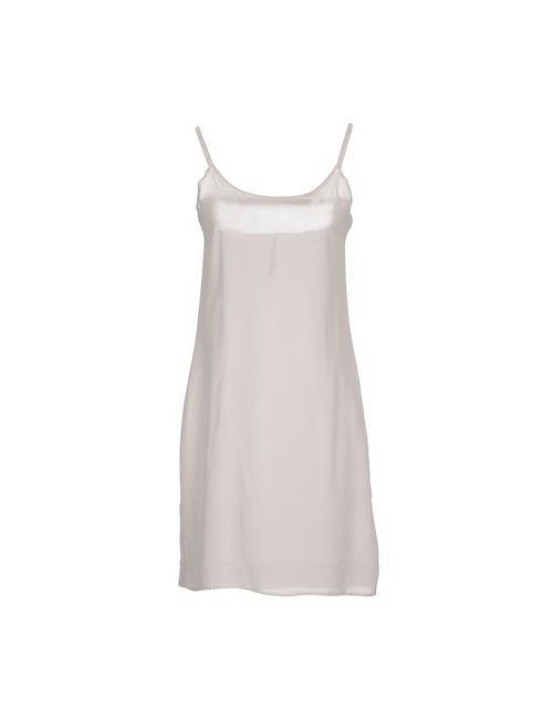 Manila Grace   Женское Серое Короткое Платье