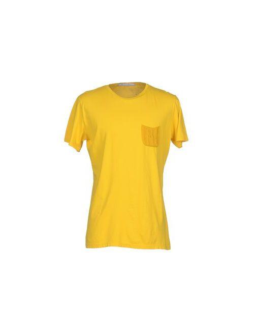 Relive   Мужская Жёлтая Футболка