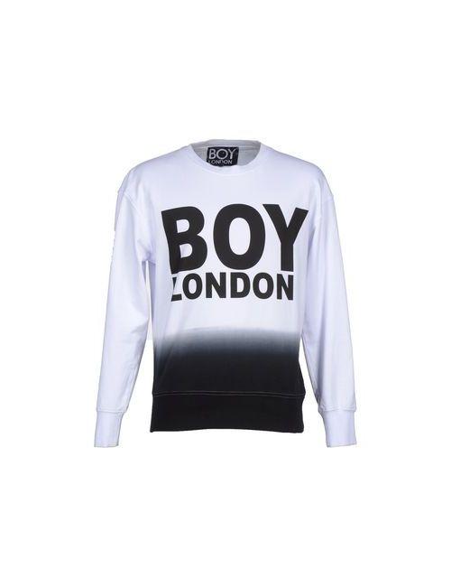 Boy London | Мужская Белая Толстовка