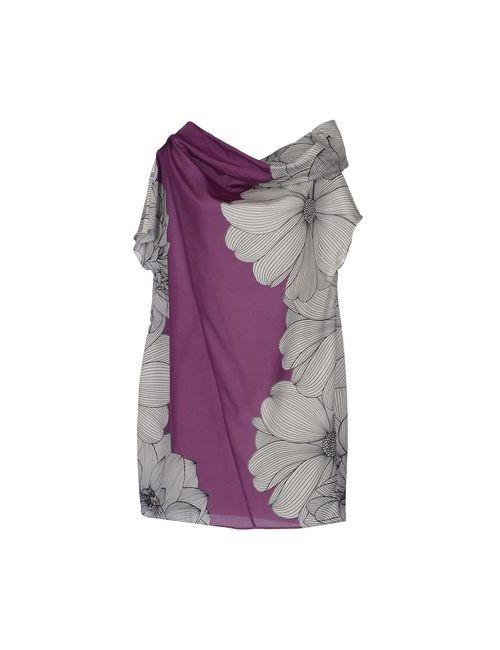 Andrea Turchi | Женское Белое Короткое Платье