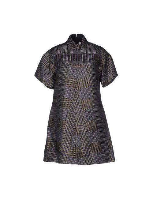 3.1 Phillip Lim | Женское Фиолетовое Короткое Платье