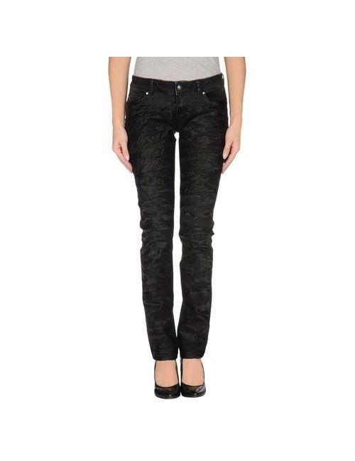 Liu •Jo Jeans   Женские Чёрные Джинсовые Брюки