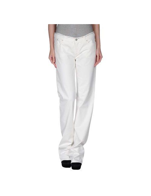 Versace Jeans Couture | Женские Белые Джинсовые Брюки