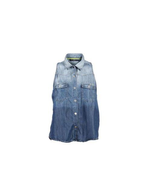 Meltin Pot | Женская Синяя Джинсовая Рубашка