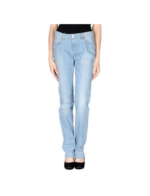 Trussardi Jeans | Женские Синие Джинсовые Брюки