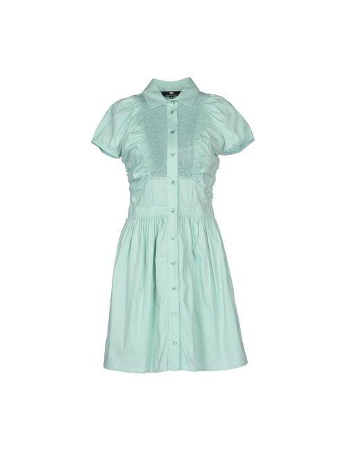 ELISABETTA FRANCHI   Женское Зелёное Короткое Платье