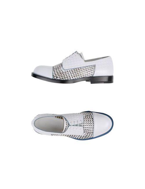 Jil Sander | Женская Белая Обувь На Шнурках