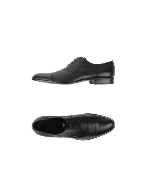 Moreschi | Мужская Чёрная Обувь На Шнурках