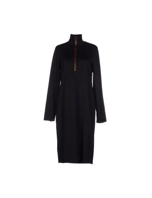 Ralph Lauren Black Label | Женское Чёрное Платье До Колена