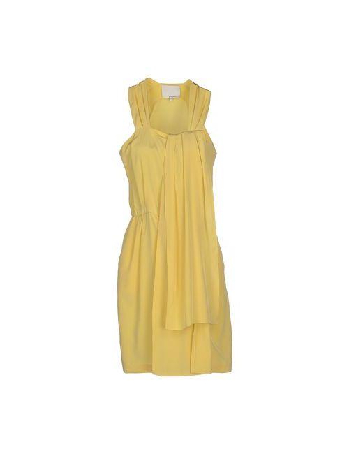 3.1 Phillip Lim | Женское Жёлтое Короткое Платье