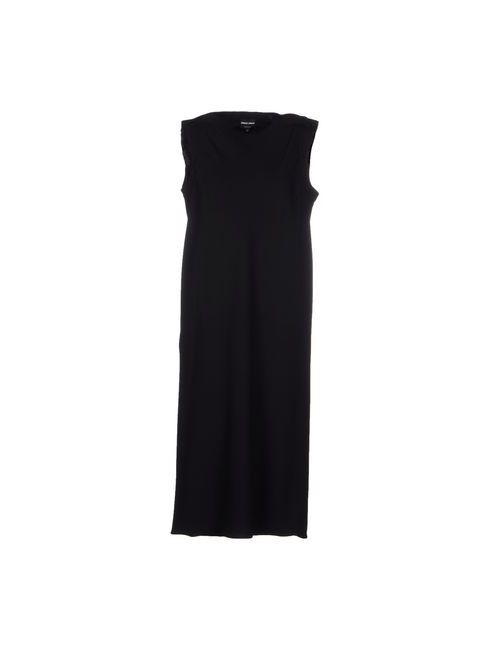 Giorgio Armani | Мужское Чёрное Платье До Колена