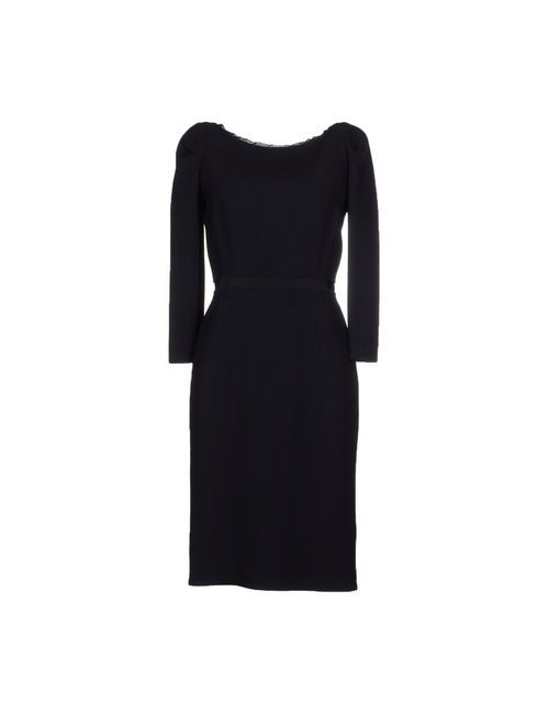 Aquilano-Rimondi | Женское Чёрное Платье До Колена