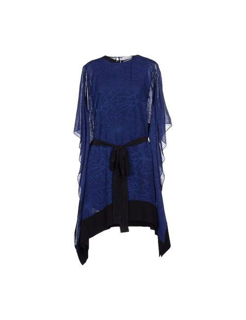 Vionnet | Женское Синее Короткое Платье