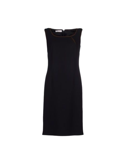 Botondi Couture | Женское Чёрное Платье До Колена