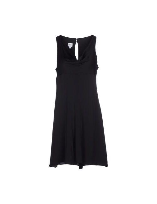Armani Collezioni | Женское Чёрное Короткое Платье
