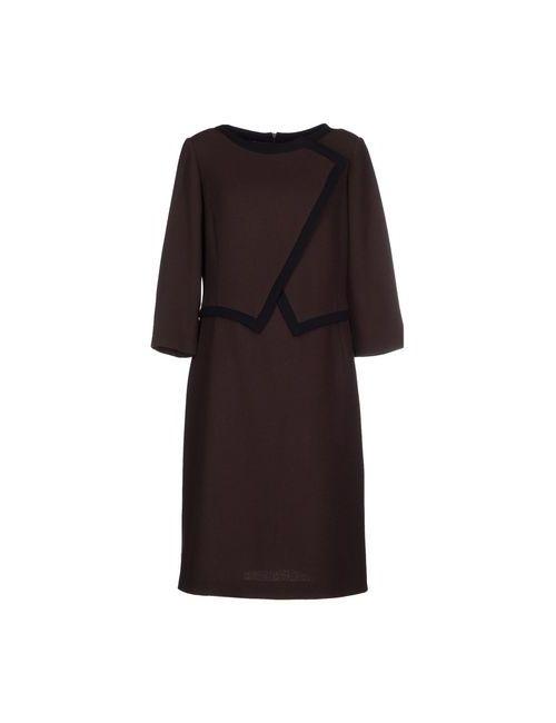 Botondi Milano   Женское Какао Платье До Колена