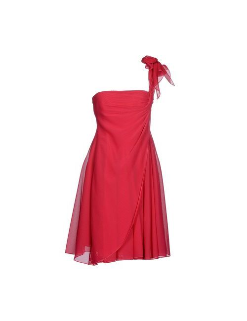 Giorgio Armani | Женское Фуксия Короткое Платье