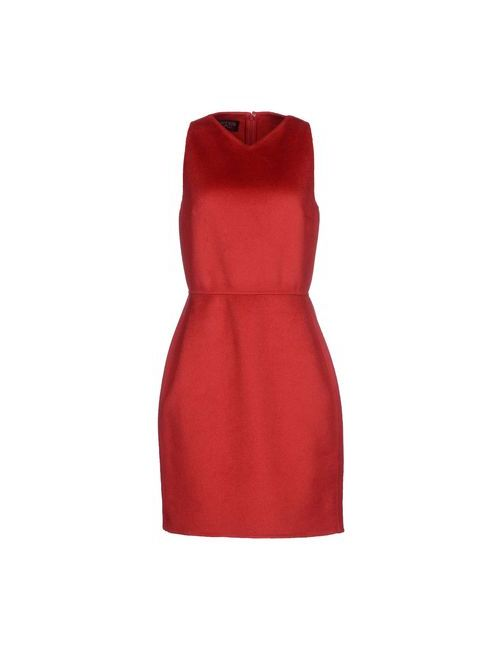 Giambattista Valli | Женское Красное Короткое Платье