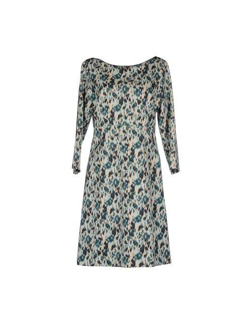 Marc Jacobs | Женское Зелёное Короткое Платье