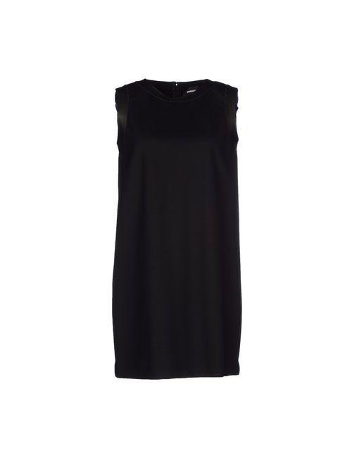 Dsquared2   Женское Чёрное Короткое Платье