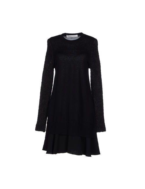 Victoria, Victoria Beckham | Женское Чёрное Короткое Платье