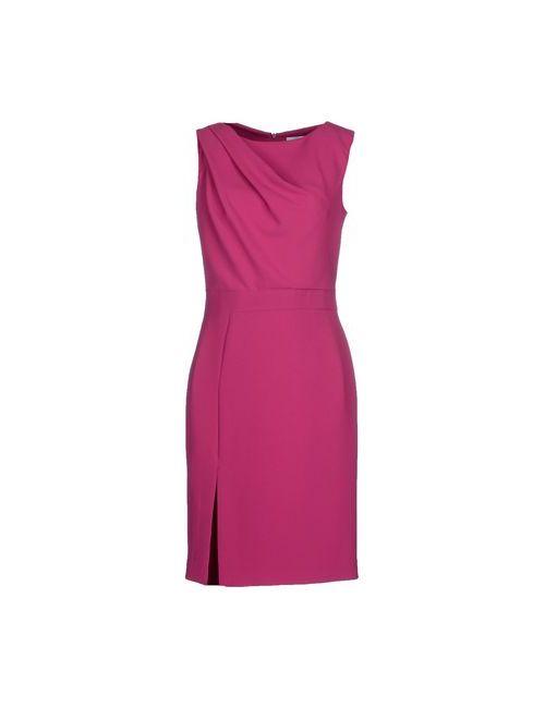 Blumarine | Женское Розовато-Лиловое Короткое Платье