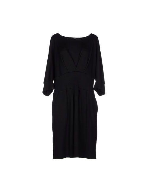 Limi Feu | Женское Чёрное Короткое Платье