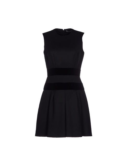 Alexander McQueen | Женское Черный Короткое Платье