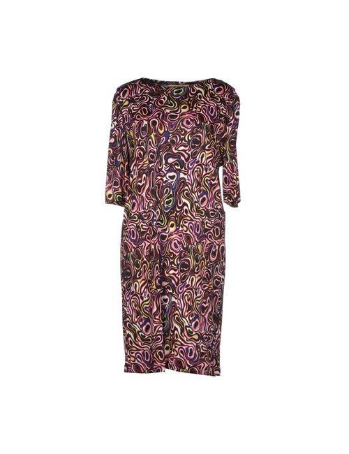 Balenciaga   Женское Розовое Короткое Платье