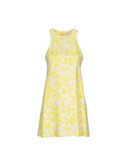Vanessa Bruno | Женское Жёлтое Короткое Платье