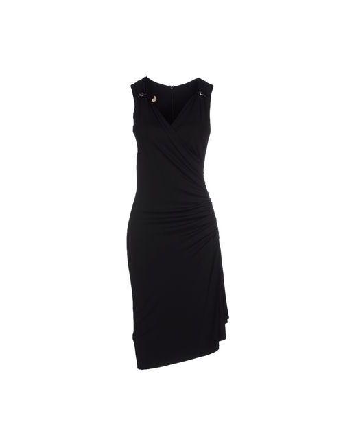 Michael Kors | Женское Чёрное Платье До Колена