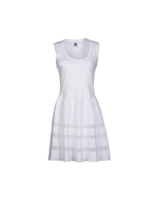 Missoni | Женское Белое Короткое Платье