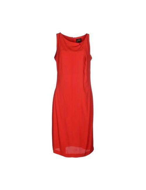 Vivienne Westwood Anglomania | Женское Красное Платье До Колена