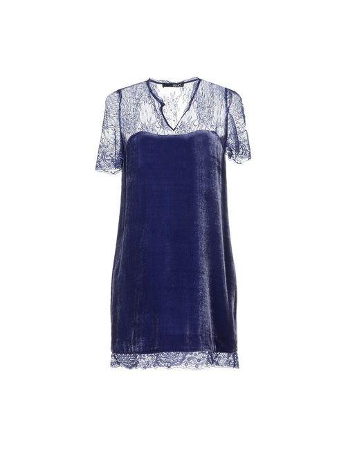 Liu •Jo | Женское Синее Короткое Платье