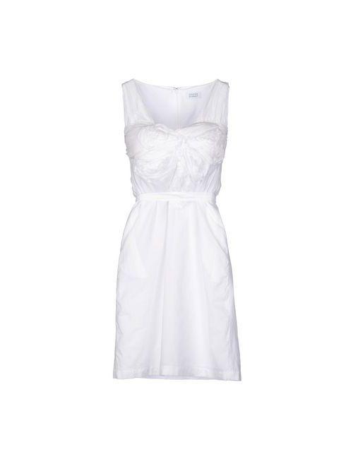 Steffen Schraut | Женское Белое Короткое Платье