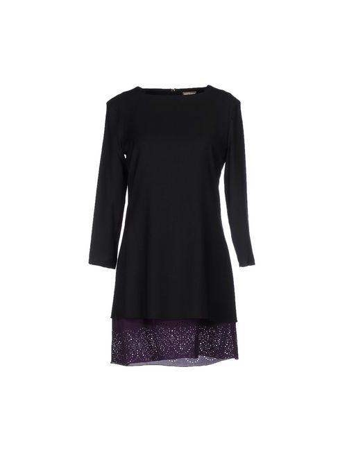 Galliano | Женское Черный Короткое Платье