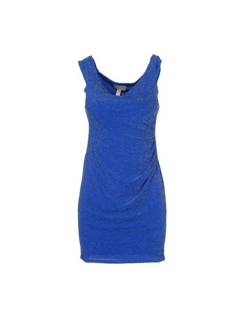 Lipsy | Женское Синее Короткое Платье