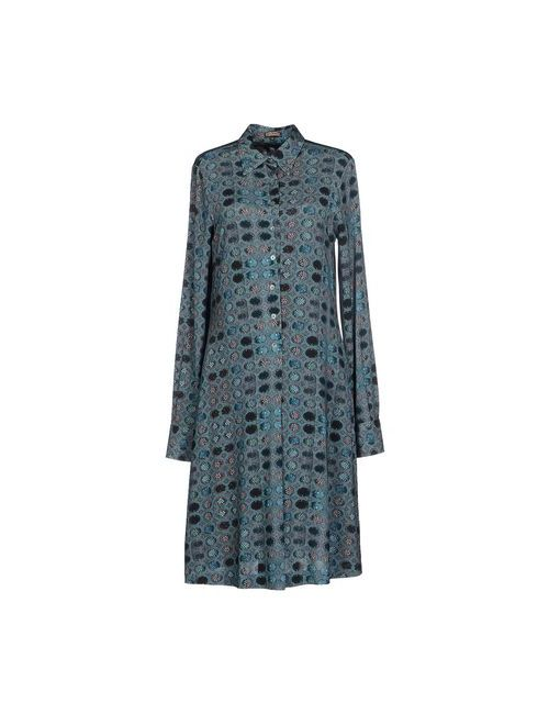 Maliparmi | Женское Бирюзовое Короткое Платье