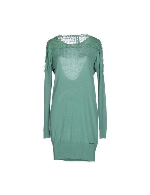 G.Sel | Женское Зелёное Короткое Платье