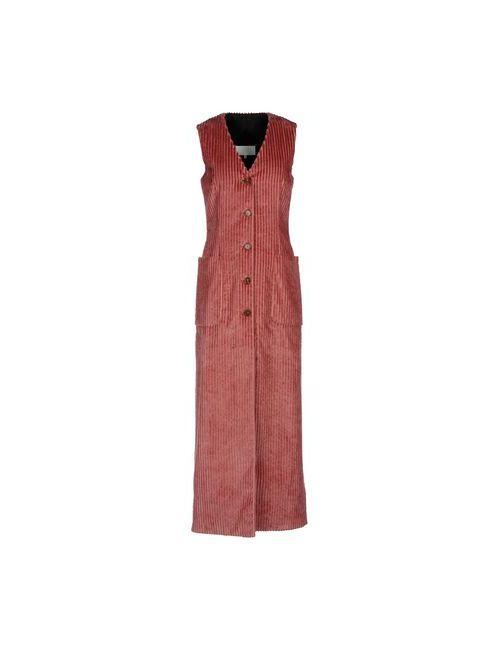 Maison Margiela | Женское Розовое Длинное Платье