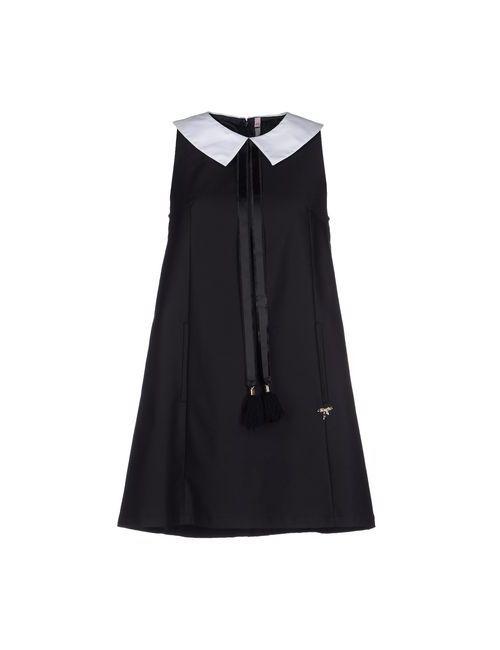 Scee By Twin-Set   Женское Чёрное Короткое Платье