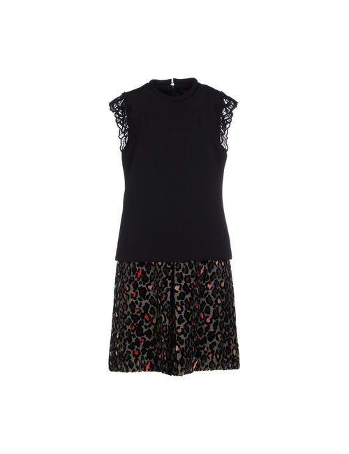Twin-Set Simona Barbieri | Женское Черный Короткое Платье
