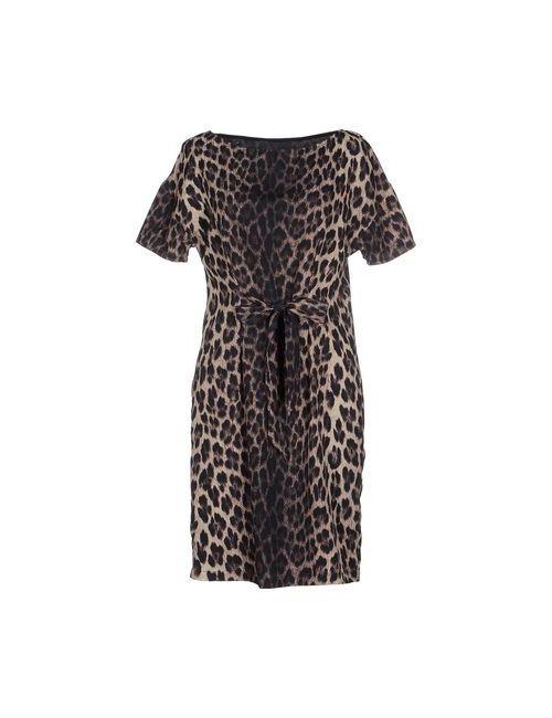 Love Moschino | Женское Бежевое Короткое Платье