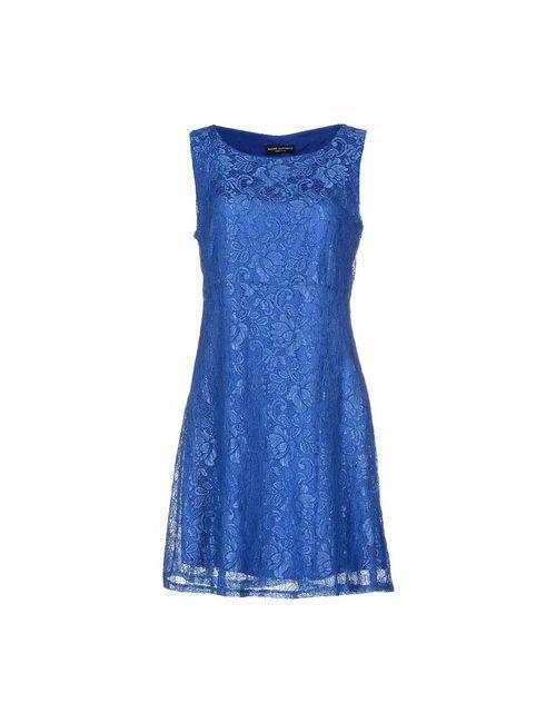 MAURO MENICHETTI | Женское Синее Короткое Платье